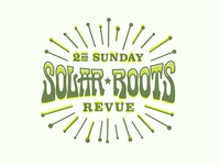 2nd Sunday Solar Roots Revue Logo