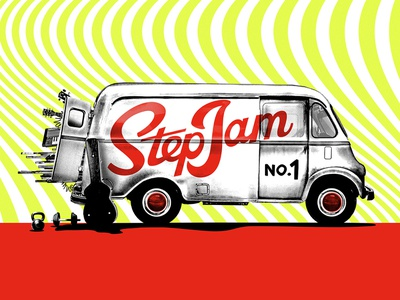 Step Jam No1 music logo austin