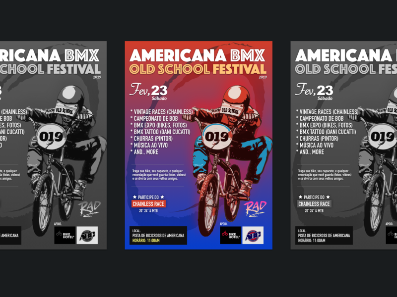 BMX Poster poster art 2019 bike bicycle ilustración a3 bmx poster