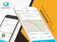 Balade - Ultimate Taxi Booking App