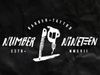 Branding No.19 - Barber tattoo shop