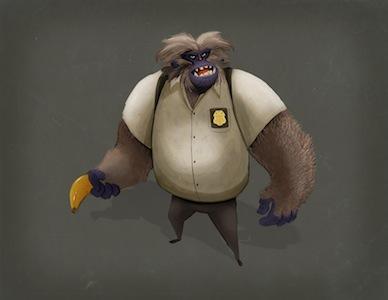 Baboon Cop