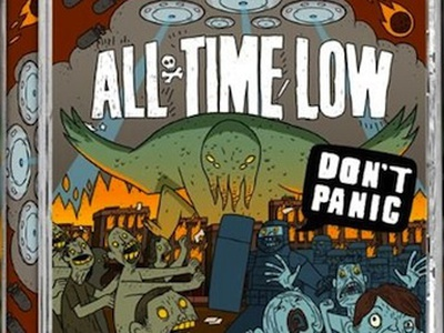 Teaser for some artwork we did for All Time Low's New Album all time low all time low brett jubinville tinman creative studios