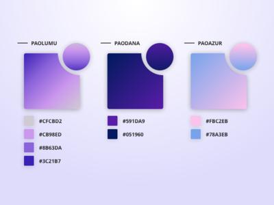 Free Pao Gradient - February free freebie purple gradient color colors ui