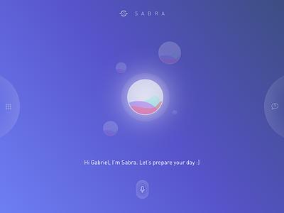 Voice IA - Sabra gesture command voice ux ai ia ui