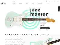 Fender Jazzmaster product page