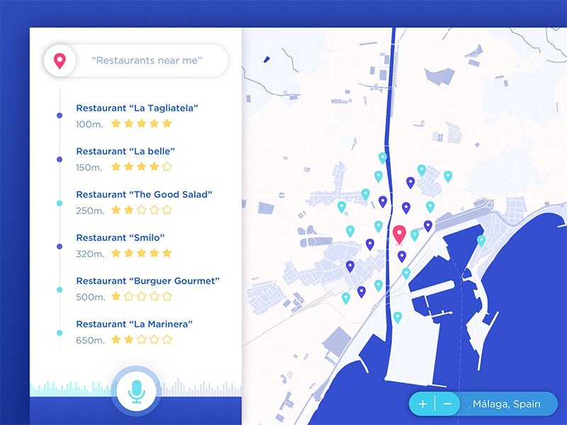Search by location App