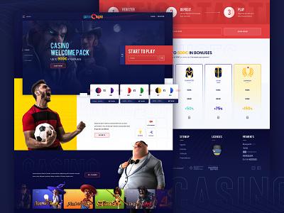 Latam Casino Concept gambling gaming winner sportsbook sports slots latam concept characters casino bet