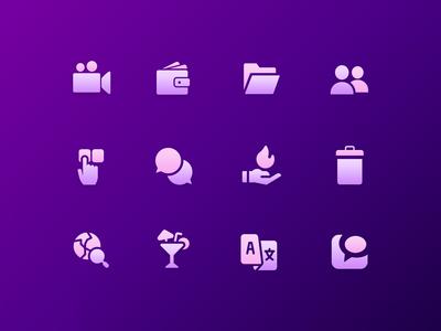 Simple Minimalistic Icons