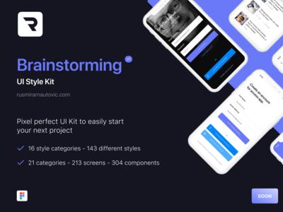 Brainstorming - UI Style Kit