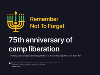Auschwitz: 75th anniversary of camp liberation
