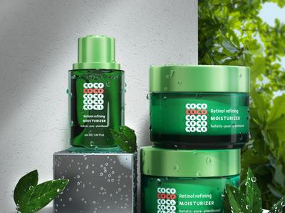 cosmetic branding + 3d package vizualisation 3d package identity brand brand design cosmetics logo cosmetics vizualisation 3d package cosmetic branding