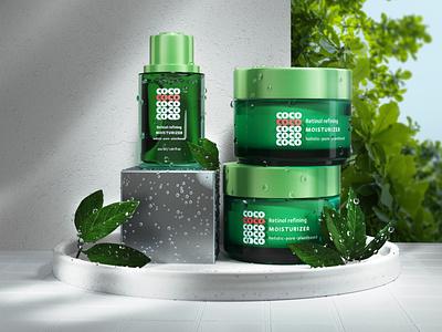 cosmetic brand visualization brand identity brand design package design cosmetics cosmetic packaging brand visualization cosmetic