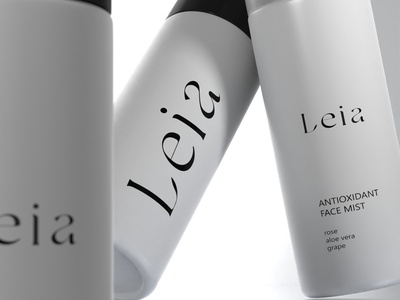 logo design branding cosmetics 3d visualisation lettering logo