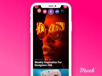 Muzli Mobile App Concept