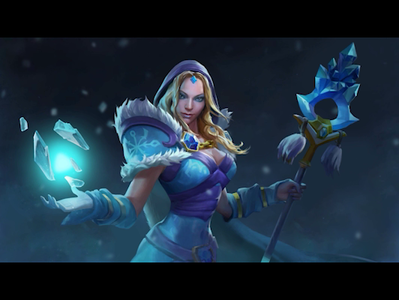 Crystal Maiden loading animation video video games video game videogames videogame game art loading animation loading game rylai motion graphic crystal maiden motiongraphics animation dota 2 dota2 dota motion design design motion graphics motion