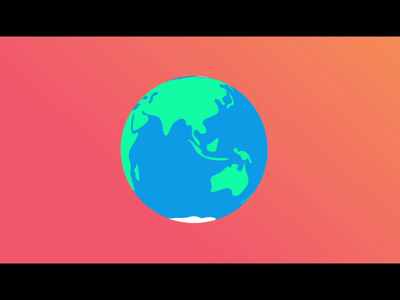 Tripper airplane planet earth travelling travel traveling travel app travel agency branding motiongraphics minimalist design motion graphics motion design motion animation logo