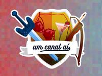 Um canal aí Sticker