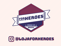 For Heroes - Logo