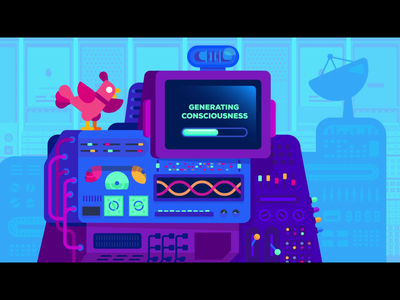Kurzgesat animation machines machine kurzgesat animation motion design motion graphics motion