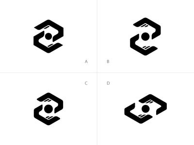 Instant Capital services concept minimal financial money hand logo