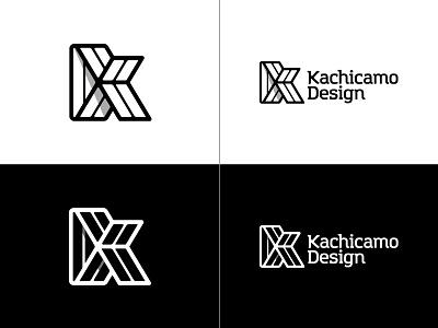 Logo Kachicamo Design freelance design identity k kachicamo initial letter minimal logo new