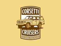 CORSETTI CRUISERS fj60 toyota restoration desert sand auto car