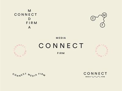 CMF branding design logo typography type