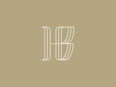 HB for HoggBird branding logo icon