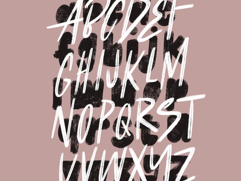 Alpha lettering