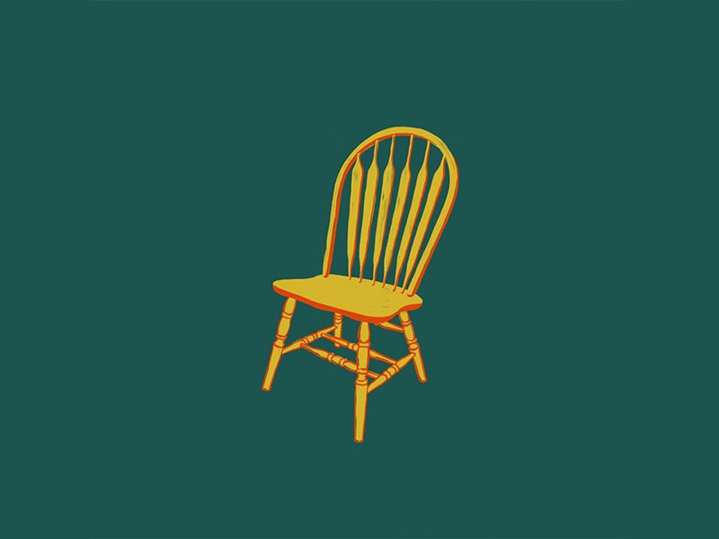 Chair procreate drawing chair