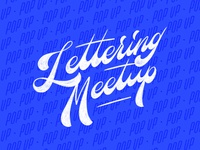 Lettering Meetup