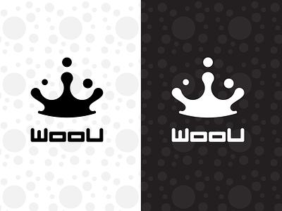 Woou ecommerce typography symbol fashion brand brand identity logo branding