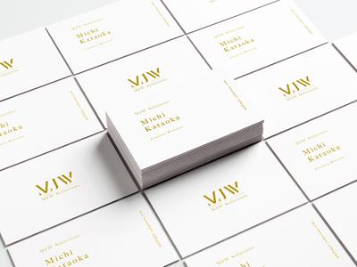 MJW Business Cards