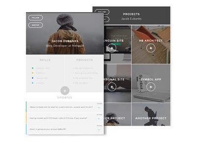 Daily UI #5 Social Profile