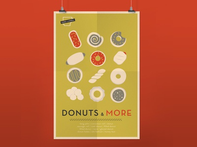 Donut Shop Poster Series