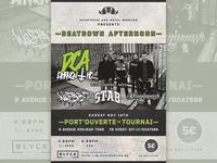 Beatdown show flyer
