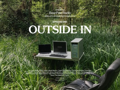 Outside In: Episode 1 minimal contemporary webflow interactive culture music online radio computer radio