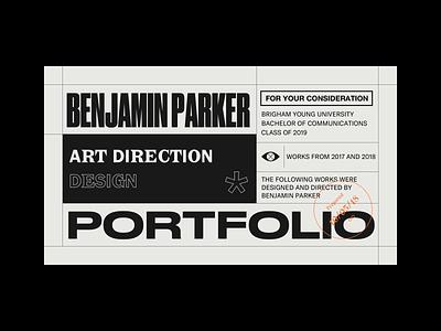 Portfolio Card helvetica druk grid layout card portfolio design minimal branding contemporary typography black brutalist