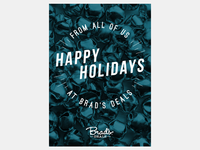 Brad's Deals holiday card