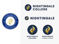 Nightingale College logo concepts