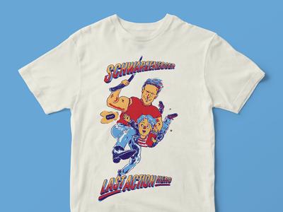 Last Action Hero t-shirt