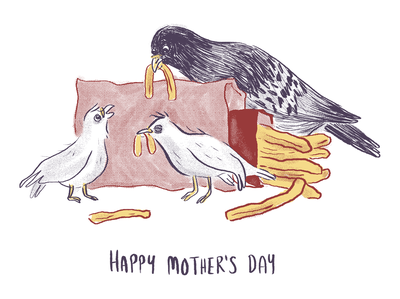 Just a lil mother's day card