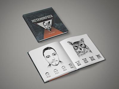Metamorphosis Book cover owl book metamorphosis