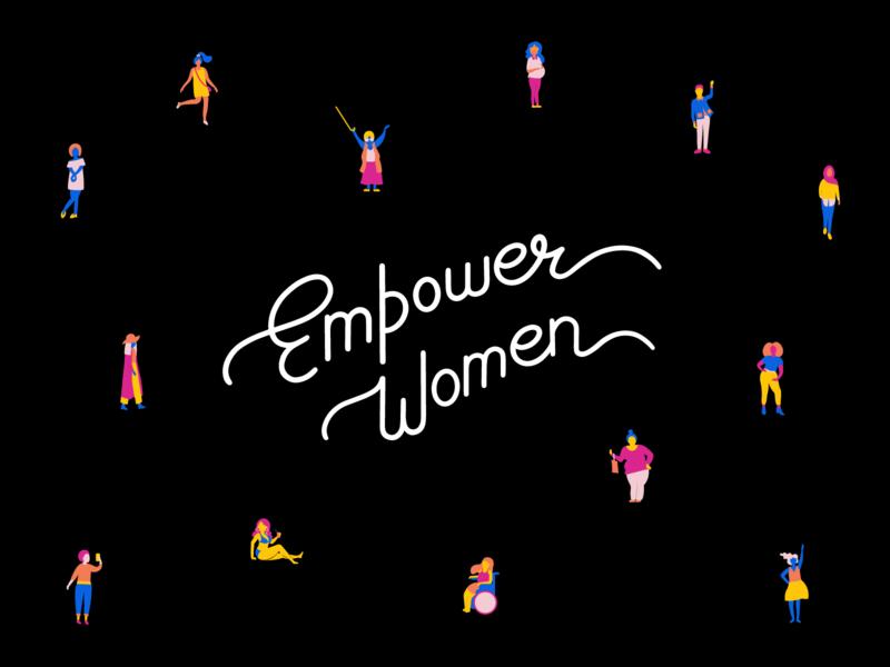 Women's Day 2019 empowerwomen diversity handlettering lettering illustration internationalwomensday womens day