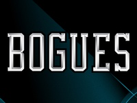 bogues - stylized type