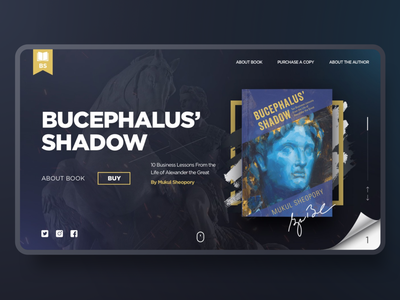 Order the Book jetup digital bucephalus shadow author order book store app store reading books typography promo webdesign website ux ui jetup