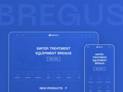 Bregus web site ui ux water purification water filter store clean water water refrigerator smart home intelligent jetup bacteria system plumbing products boilers filters animation filter service bregus