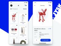 Jysk concept mobile app