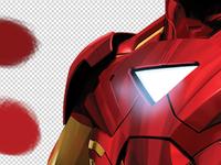 Iron Man - Avengers # 2 - Colors - Illumination